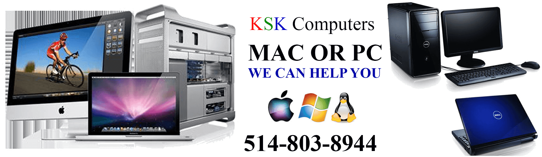 PC Mac Apple Computer Repair Montreal Laptop Repair Montreal Data Recovery LCD Repair Montreal