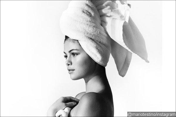 Selena Gomez Shows Off Hourglass Figure for Mario Testino's Towel Series