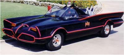 CY Productions Batmobile Replica