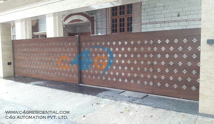 Domestic Remote Controlled Telescopic Double Gates Manufacturers
