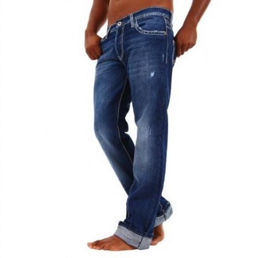 Blugi Barbati Redbridge Jeans Albastri RB-92