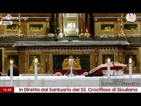 Unità Pastorale - Santa Messa in diretta dal Santuario del SS. Crocifisso di Siculiana