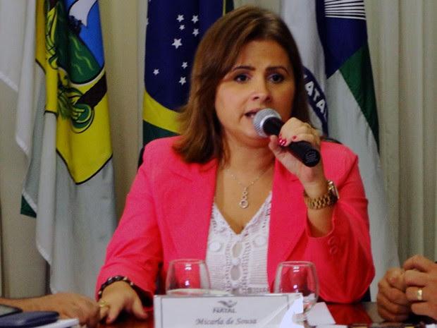 Micarla de Sousa, prefeita de Natal (Foto: Ricardo Araújo/G1)