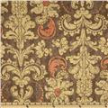 French Twist Damask Grey