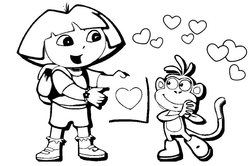 Valentines Day Coloring Sheets Preschool - Coloring wall