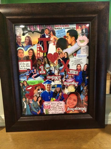Memories Collage   Easy DIY Anniversary Gift Ideas for Him