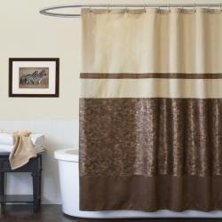 Brown Shower Curtains | Overstock.com: Buy Bathroom Furnishings Online