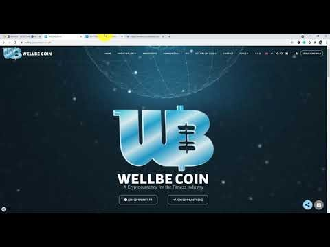 WELLBE COIN - A Cryptocurrency for the Fitness Industry.