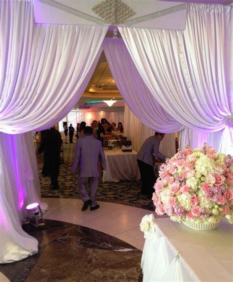 Diamond Entrance to wedding reception at San Jose Dynasty