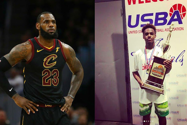 a8b2d1a778c0 LeBron James Admits to Fighting With Other Parents at Son s Basketball Game