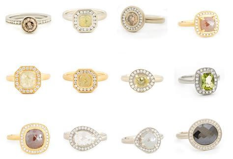 Hot trend: Colored diamond engagement rings2LUXURY2.COM