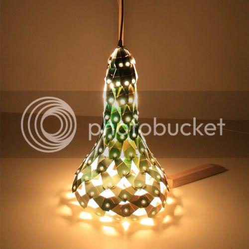 Paint Chips Lamp