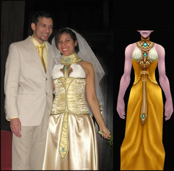 WOW wedding World of Warcraft Wedding Perhaps you have your heart set on a