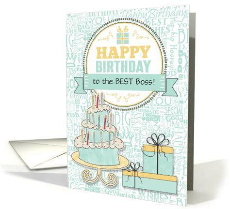 Female Boss Birthday Wishes   Custom Mint Green and Yellow