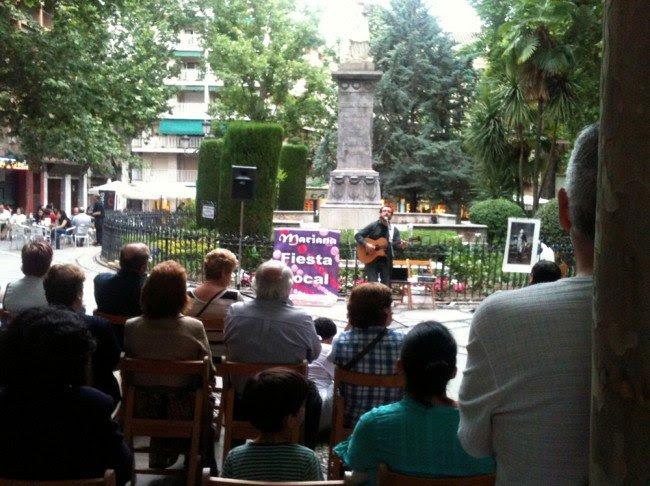 Juan Trova en el día de Mariana Pineda 2011