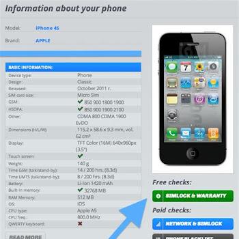 Free Iphone Unlock Check