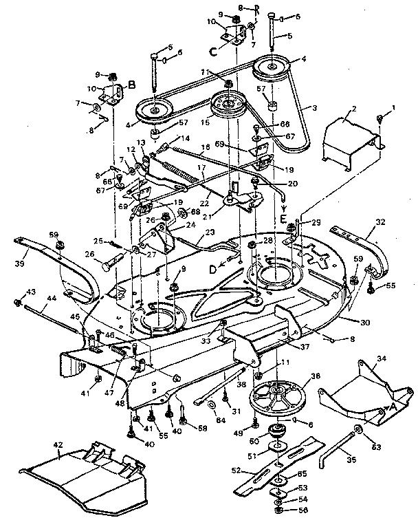 28 Craftsman Mower Parts Diagram