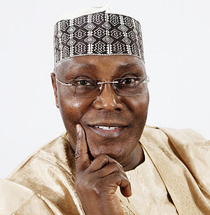 Official Atiku Abubakar portrait for 2011.