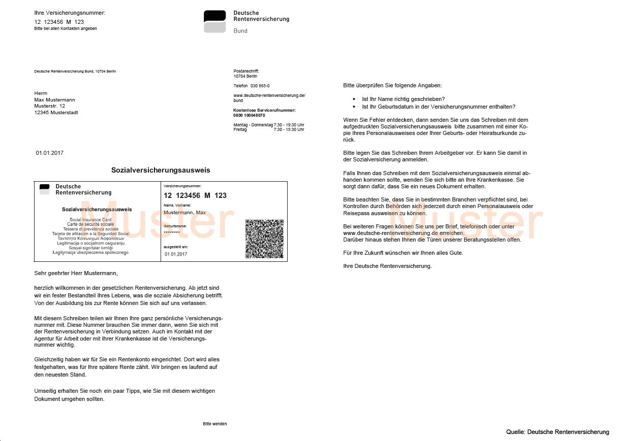 Sozialversicherung Der Ausweis Kommt Automatisch Finanzplanungs Blog