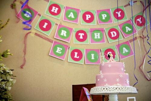 Elisa's 1st birthday