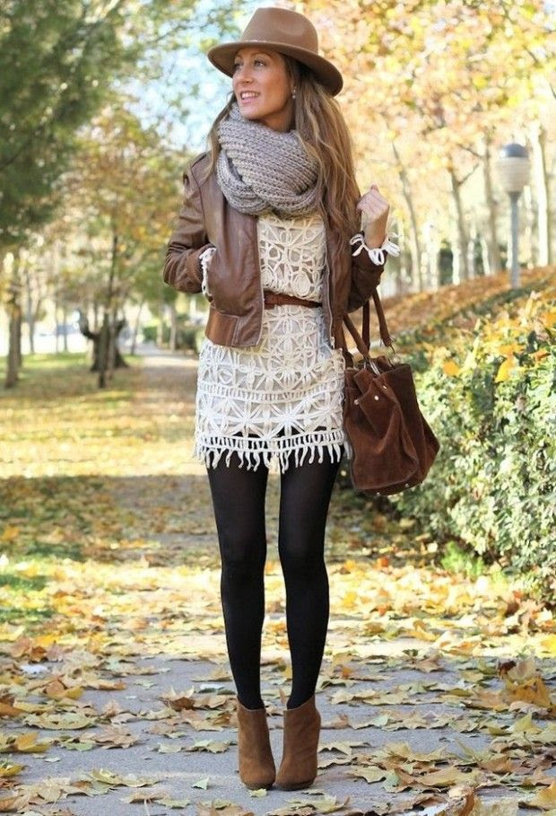 Great layered outfit for Winter....love the scarf! | Friday Christmas Favorites at www.andersonandgrant.com