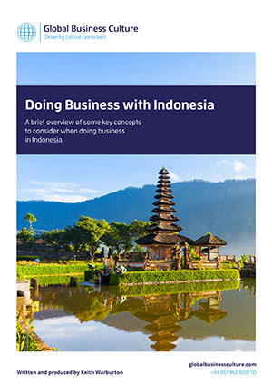 Doing Business in Indonesia  Global Business Culture