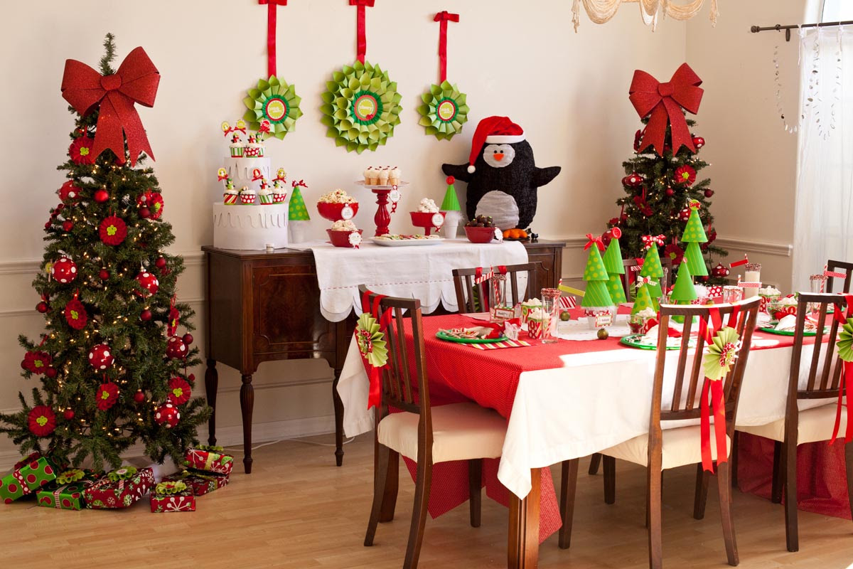 Christmas Birthday Party Themes Home Party Ideas
