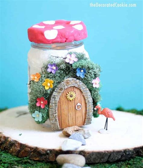 cute diy fairy houses     kids shelterness