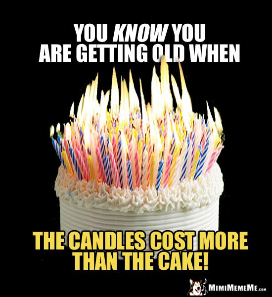 Funny Birthday Cake Jokes Happy B Day Candles Humor Hilarious