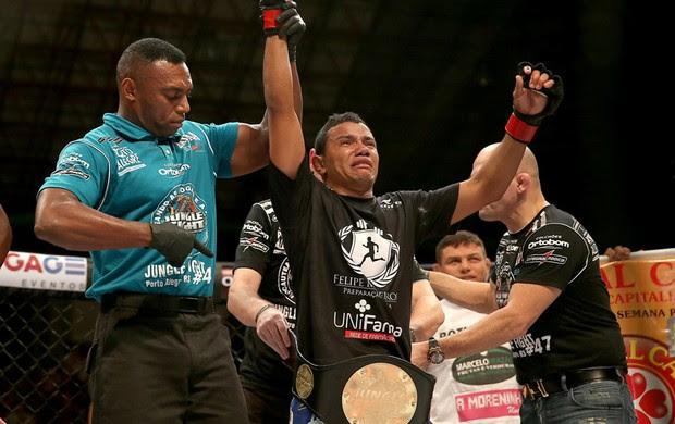 Arinaldo da Silva jungle fight (Foto: Jefferson Bernardes / Divulgação)