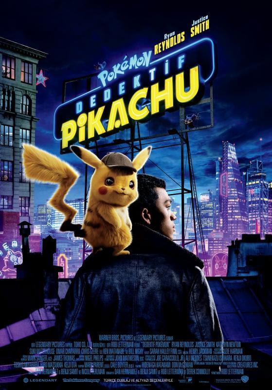 pokemon detective pikachu ile ilgili görsel sonucu