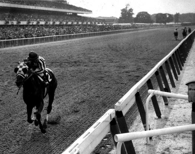 Image result for secretariat belmont