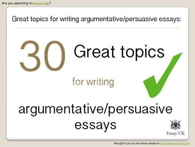 how to write a good persuasive essay relationship