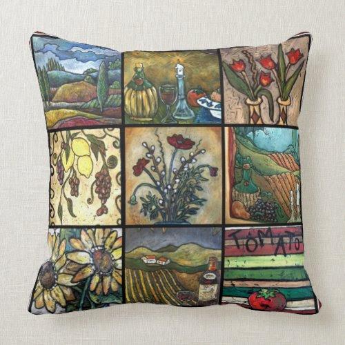I Love Tuscany Toss Pillow mojo_throwpillow