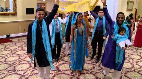 Bride's Entrance at Indian Mehndi Ceremony in GTA