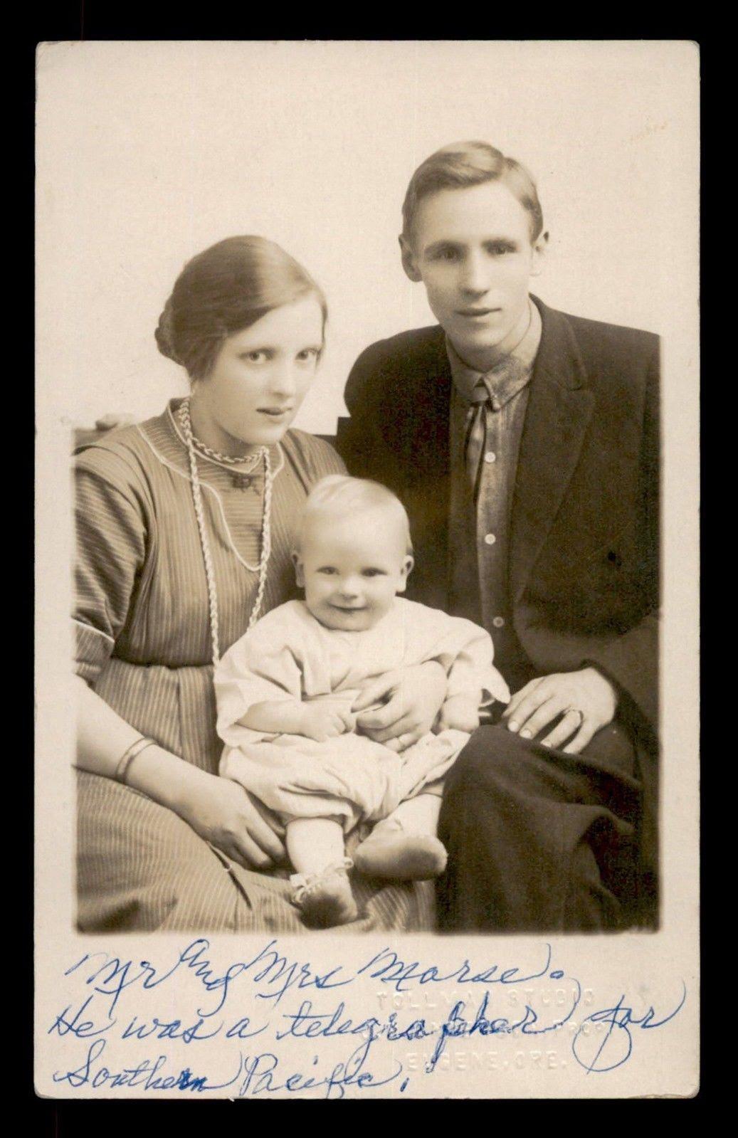 Postcard of Samuel Morse's son?