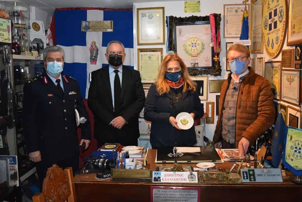 Επίσκεψη στο Αστυνομικό  Μουσείο Καρδίτσας της Δημοσιογράφου Αθηνάς ΚΡΙΚΕΛΗ