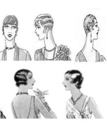 Zwanziger Jahre Frisuren Bubikopf Und Eton Stil Retrochicks