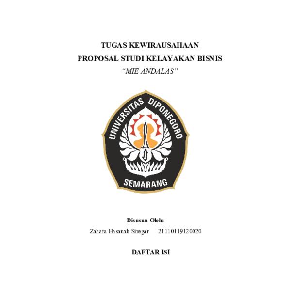 Profosal Study Kelayakan Bisnis - Top Pdf Contoh Proposal ...