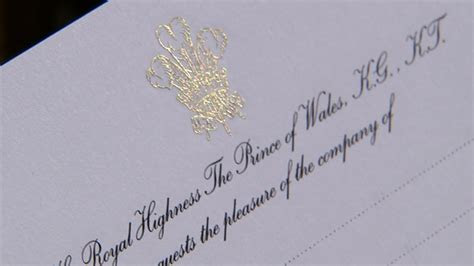 Royal wedding invitations are on their way   ITV News