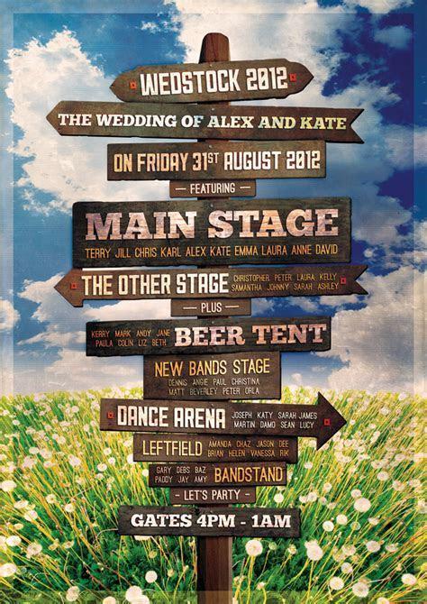 festival sign post wedding seating table plan   KallKwik