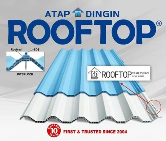 Mengetahui Kelebihan atap PVC Rooftop Alderon Sebagai