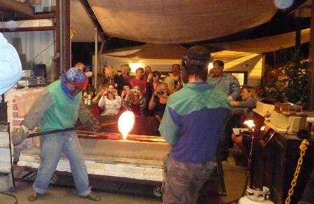 Glass demonstration