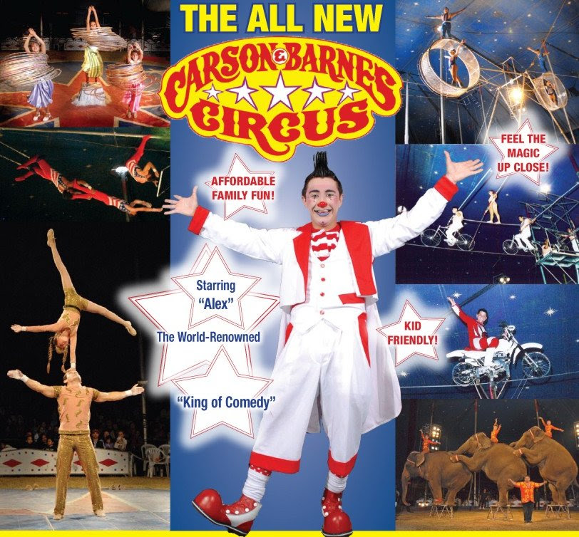 Viejas Welcomes the Carson & Barnes Circus on April 16