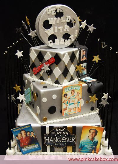 Movie Themed Bar Mitzvah Cake » Bar Mitzvah Cakes