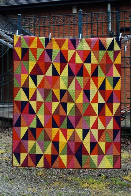 Harlequin quilt