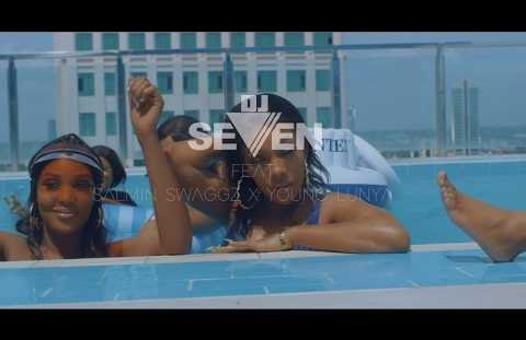 Download or Watch(Official Video) Dj seven ft Young lunya & Salmin swaggz - Tunawaka