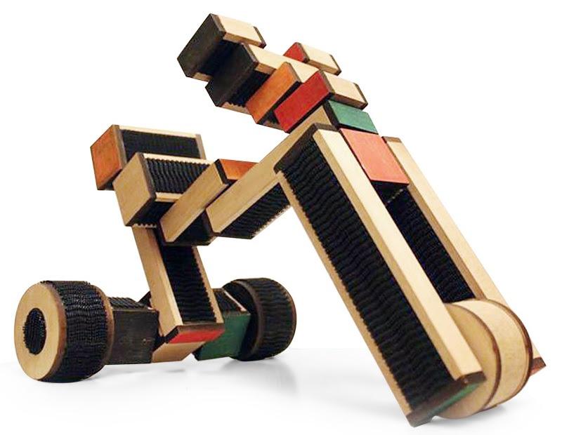 Блочный деревянный конструктор COKO Blocks 22