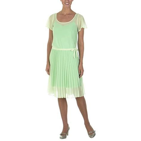 Isaac Mizrahi for Target® Georgette Dress   Ambrosia Mint