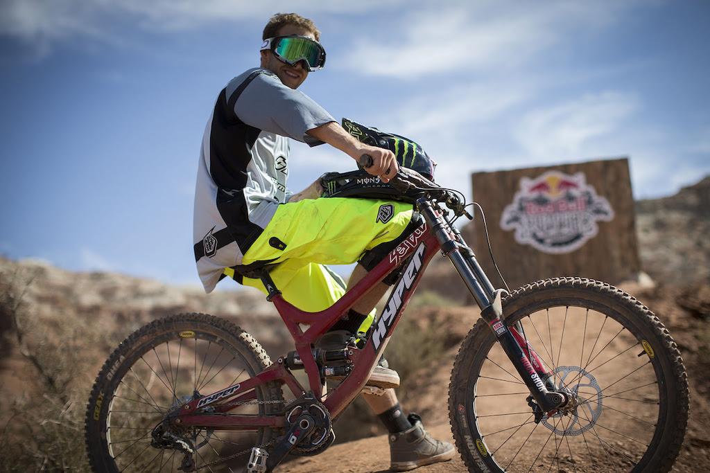 Cameron Zink at Redbull Rampage 2012